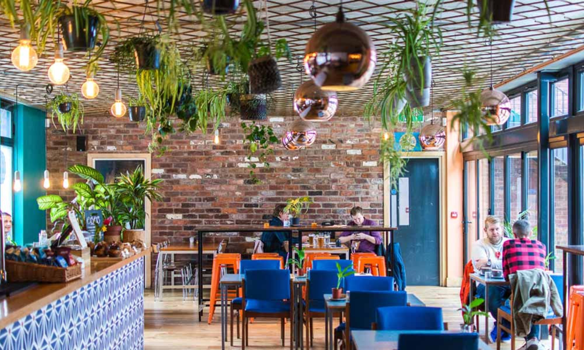 Neighbourhood food and drink study places Sheffield