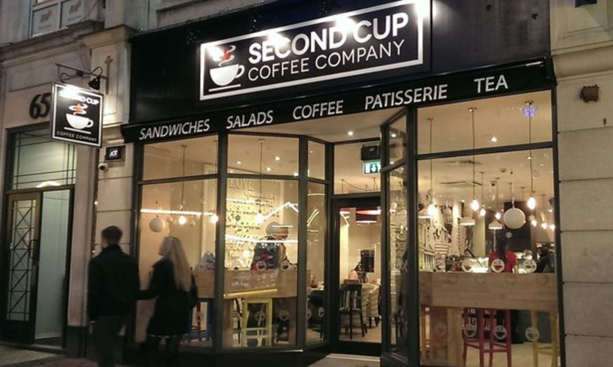 Second Cup Coffee Company study places Manchester