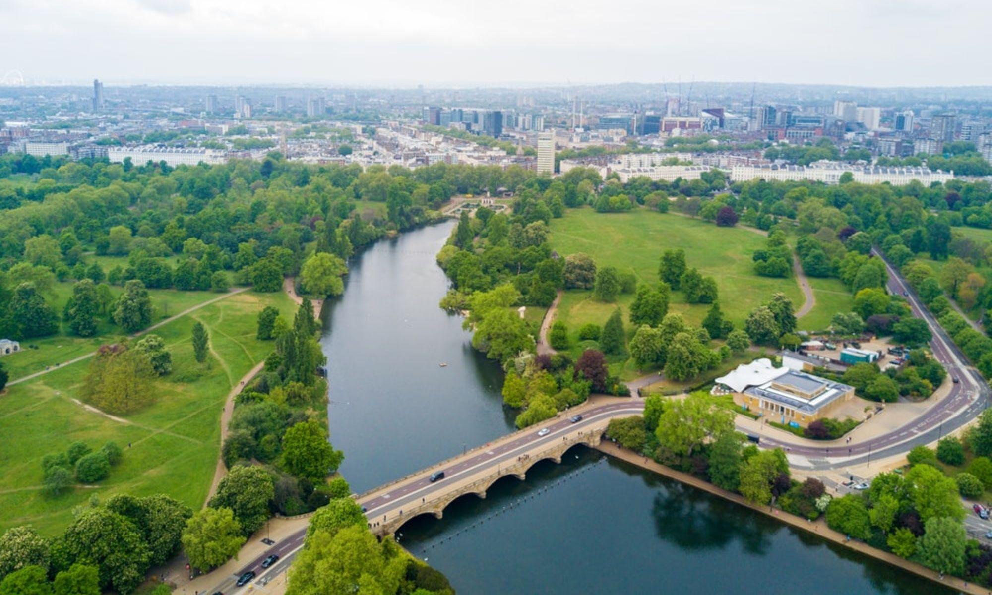 Hyde Park sunny study break London students