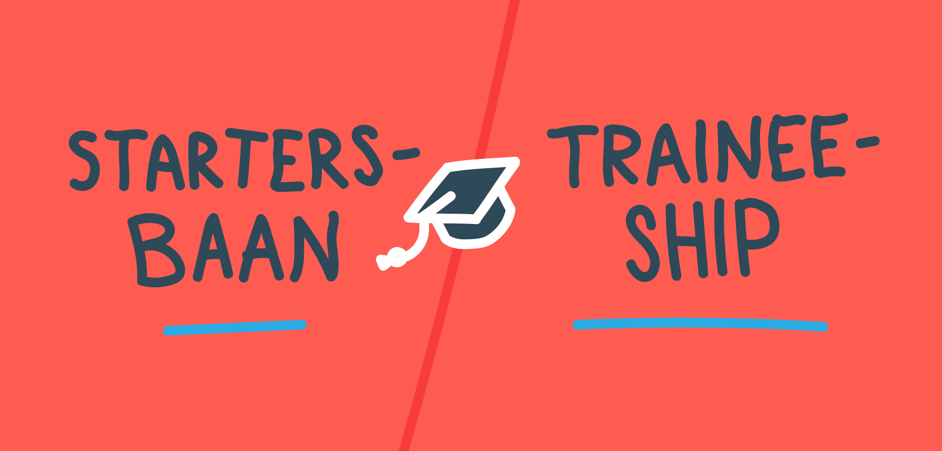Startersbaan vs traineeship animation Magnet.me Guide